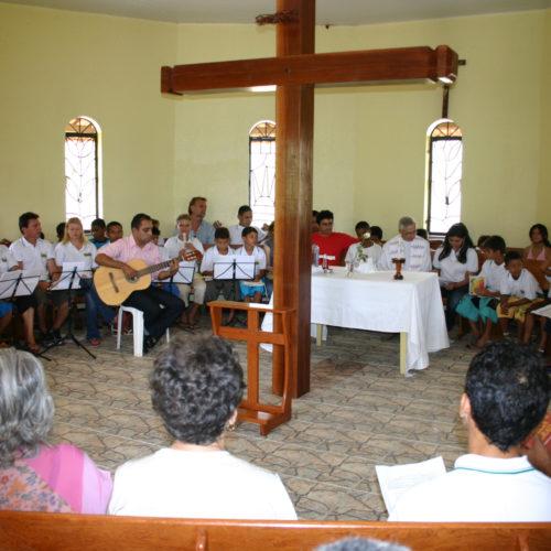 Messe in der Kapelle